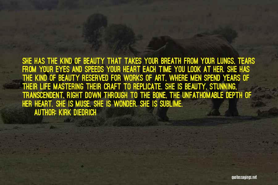Your Eyes Beauty Quotes By Kirk Diedrich
