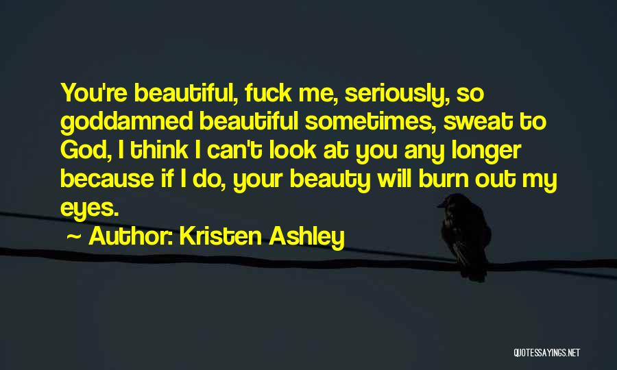 Your Eyes Beauty Quotes By Kristen Ashley