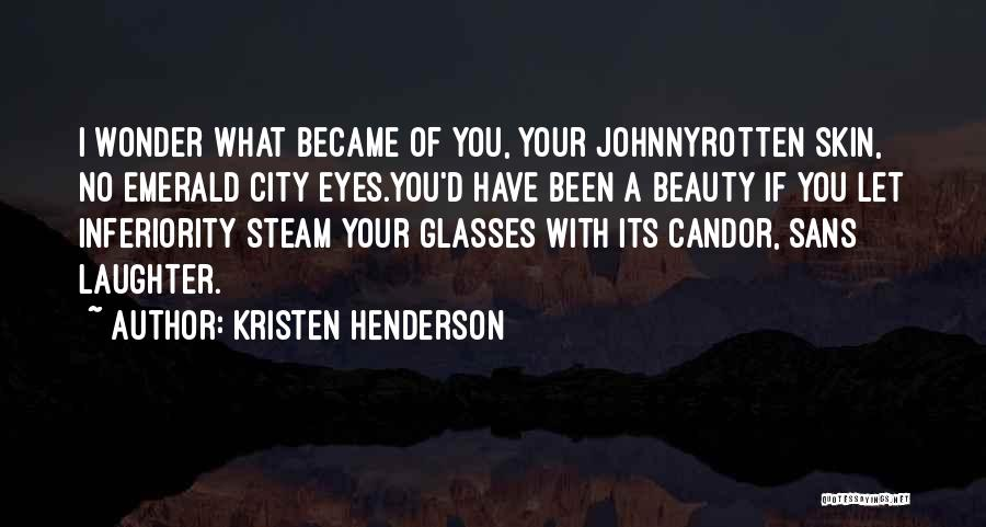 Your Eyes Beauty Quotes By Kristen Henderson