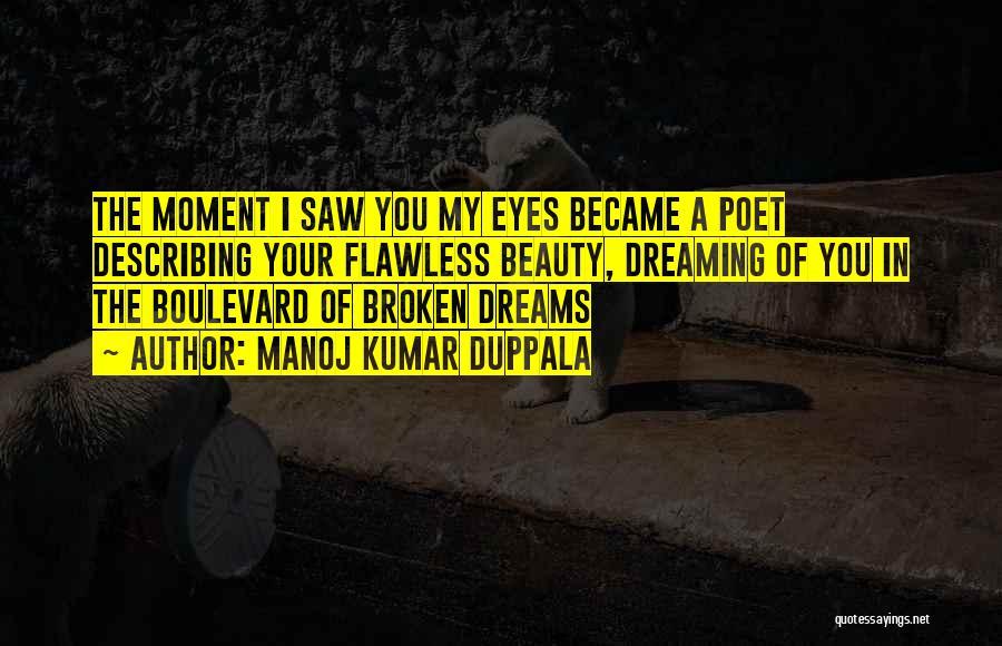 Your Eyes Beauty Quotes By Manoj Kumar Duppala