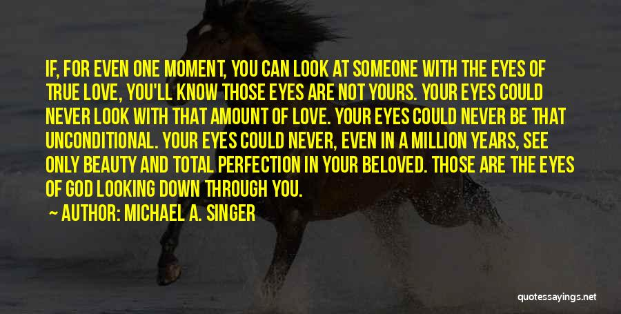 Your Eyes Beauty Quotes By Michael A. Singer