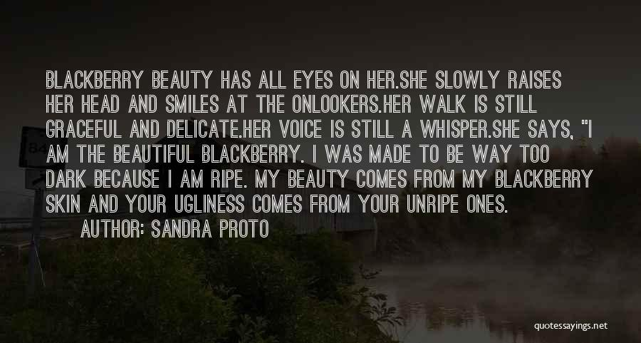 Your Eyes Beauty Quotes By Sandra Proto