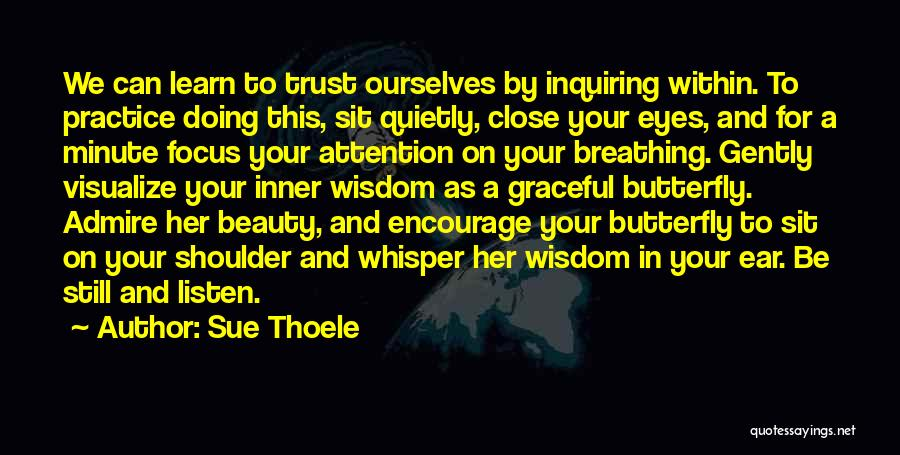Your Eyes Beauty Quotes By Sue Thoele