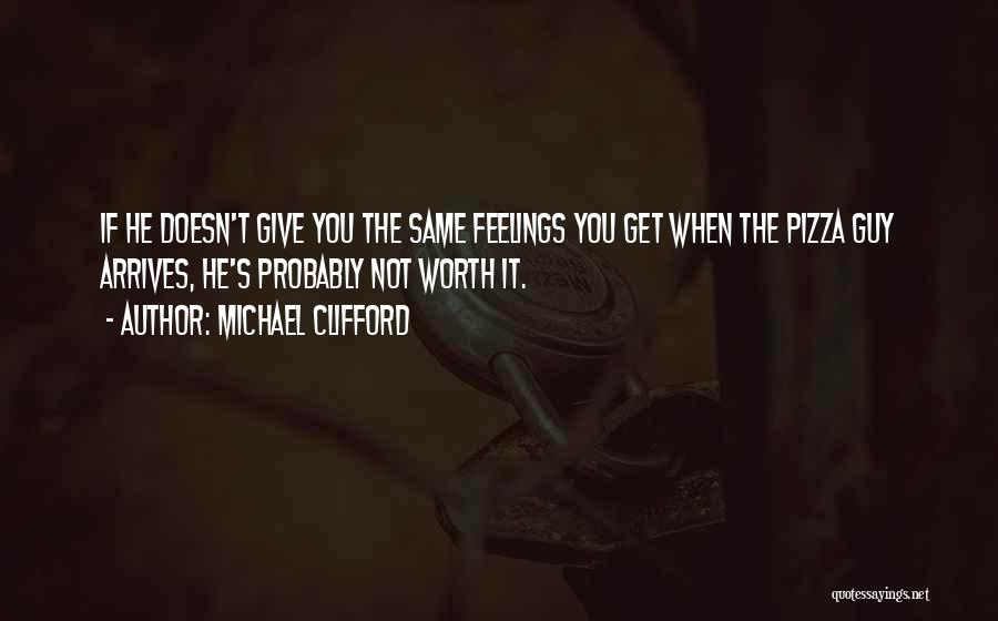 Your Feelings For A Guy Quotes By Michael Clifford