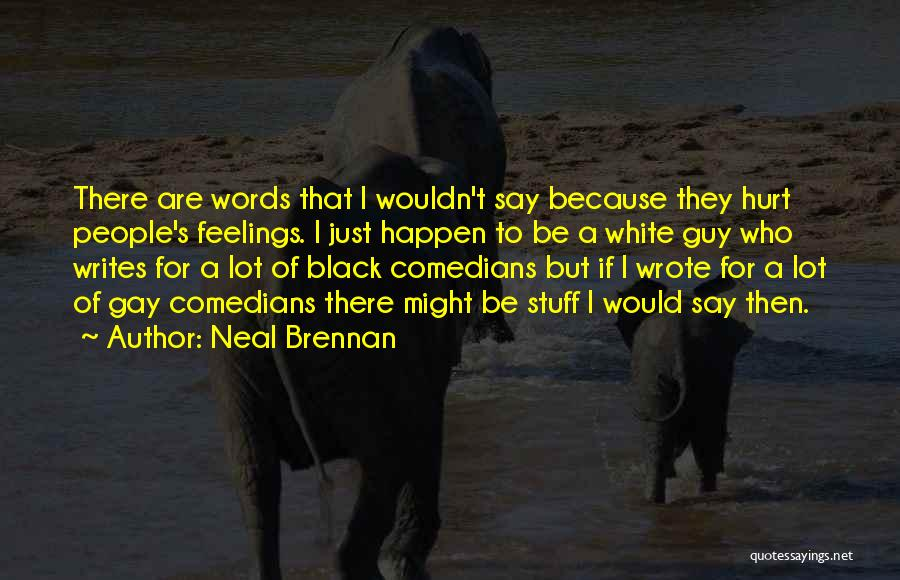 Your Feelings For A Guy Quotes By Neal Brennan