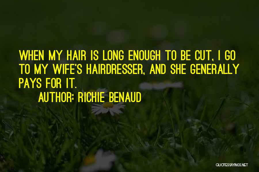 Your Hairdresser Quotes By Richie Benaud