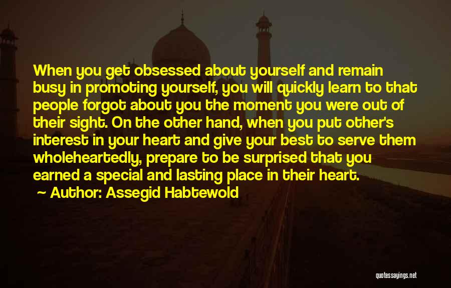 Your Heart Quotes By Assegid Habtewold