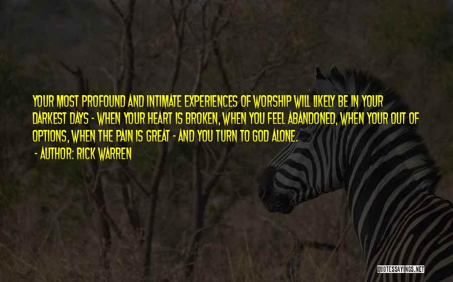 Your Heart Quotes By Rick Warren
