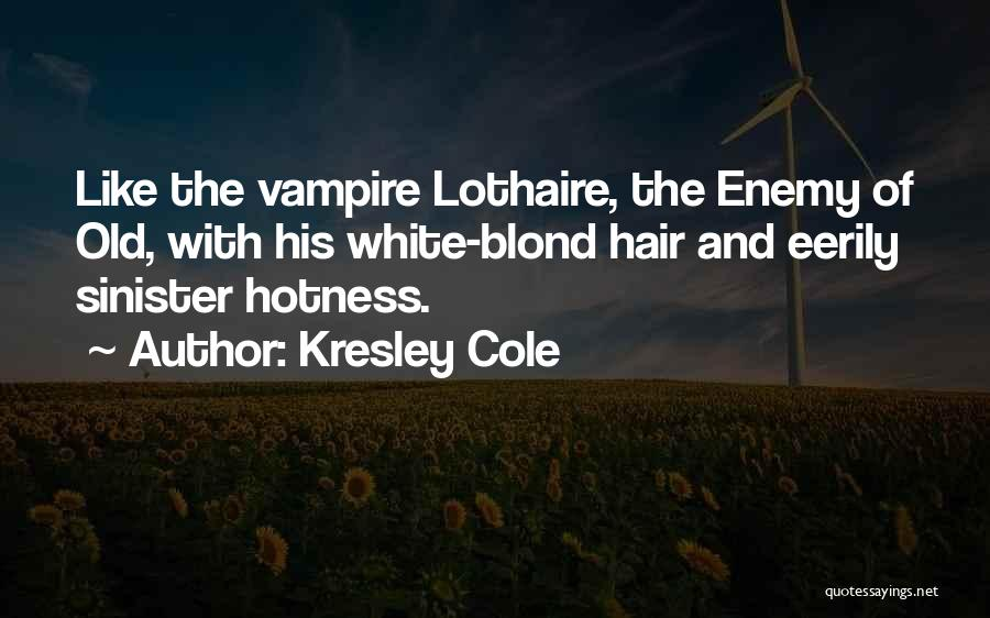 Your Hotness Quotes By Kresley Cole