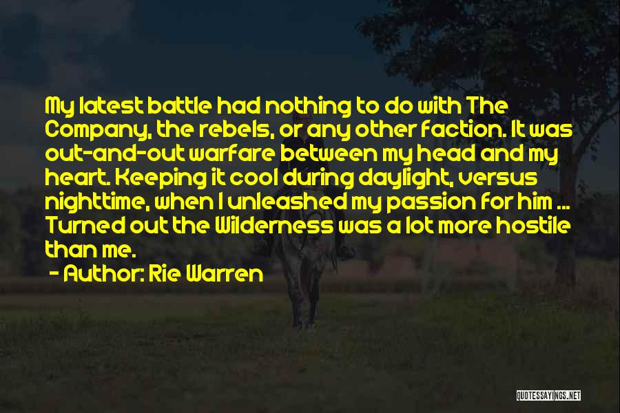 Your Hotness Quotes By Rie Warren