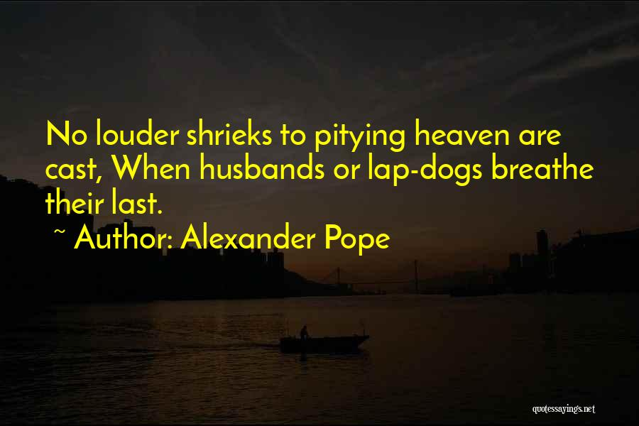 Your Husband In Heaven Quotes By Alexander Pope
