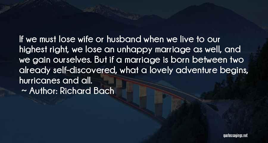 Your Husband's Ex Wife Quotes By Richard Bach