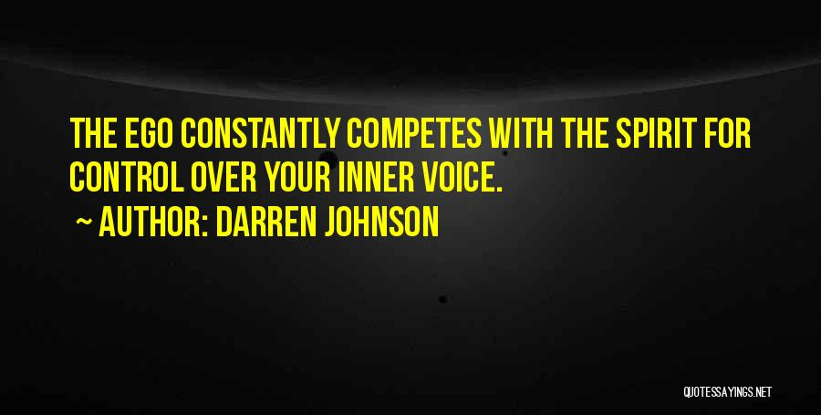 Your Inner Voice Quotes By Darren Johnson