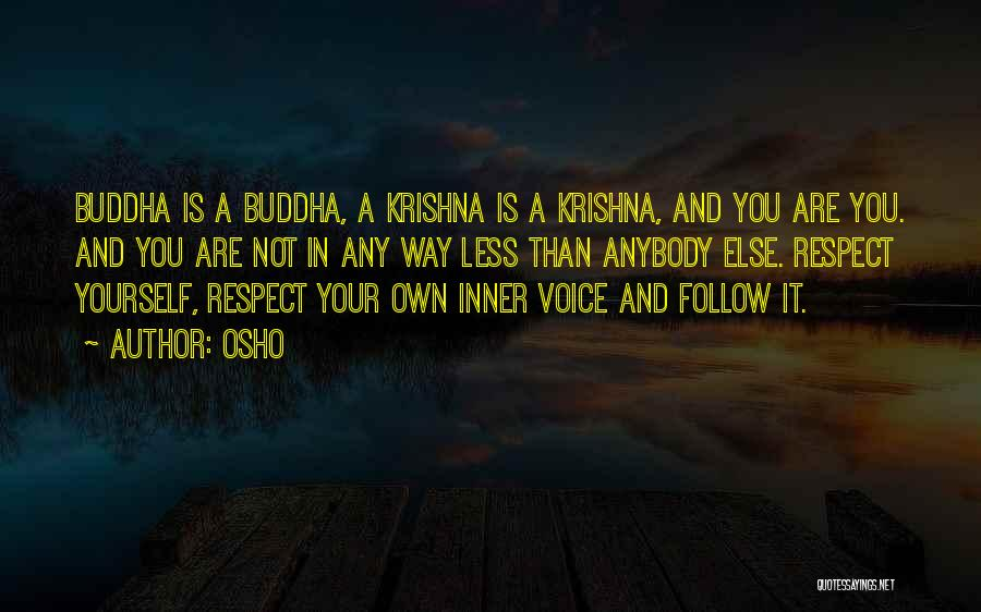 Your Inner Voice Quotes By Osho