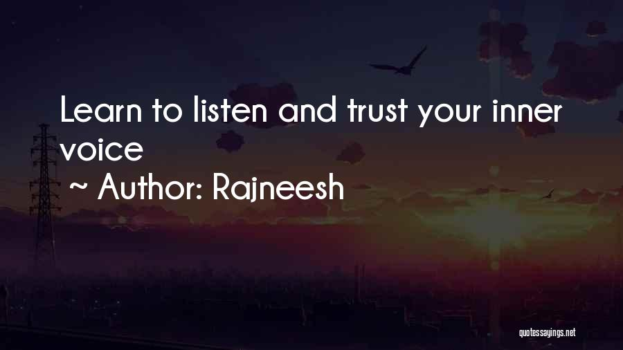 Your Inner Voice Quotes By Rajneesh