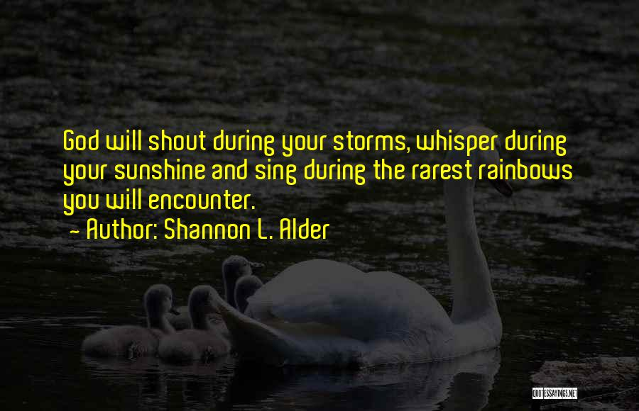 Your Inner Voice Quotes By Shannon L. Alder