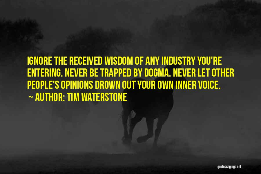 Your Inner Voice Quotes By Tim Waterstone