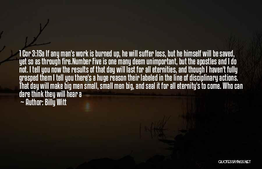 Your Last Day At Work Quotes By Billy Witt