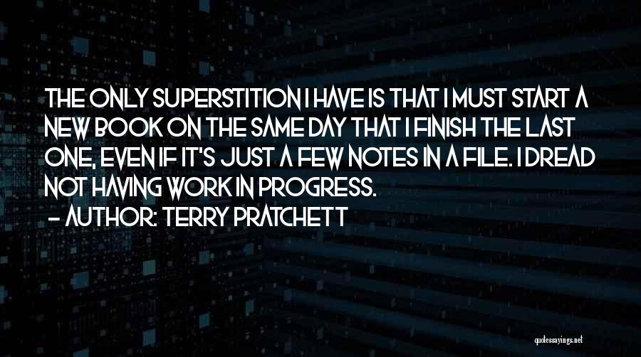 Your Last Day At Work Quotes By Terry Pratchett