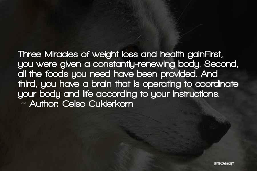 Your Loss Is My Gain Quotes By Celso Cukierkorn