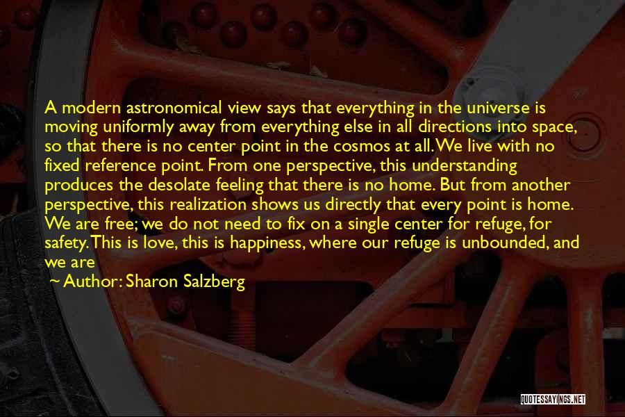 Your Love Moving Away Quotes By Sharon Salzberg