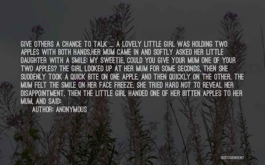 Your Lovely Smile Quotes By Anonymous