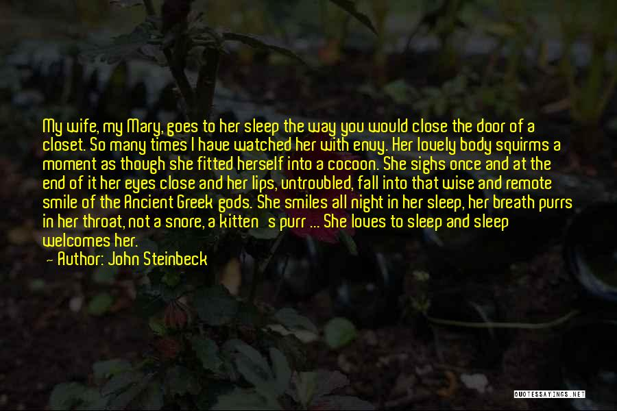 Your Lovely Smile Quotes By John Steinbeck