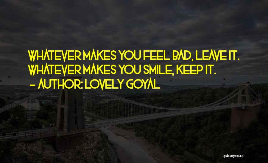 Your Lovely Smile Quotes By Lovely Goyal