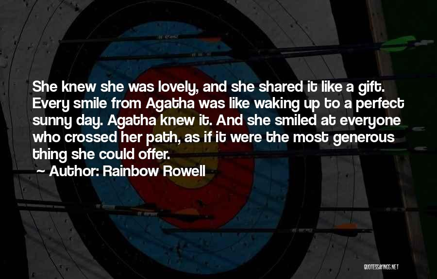 Your Lovely Smile Quotes By Rainbow Rowell