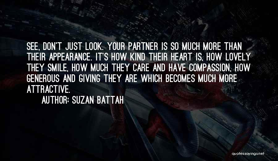Your Lovely Smile Quotes By Suzan Battah