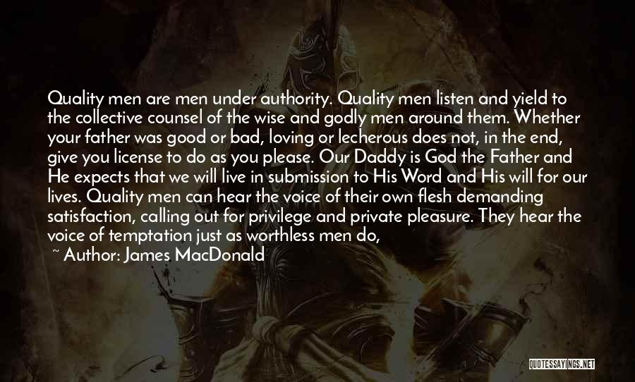 Your Man Loving You Quotes By James MacDonald
