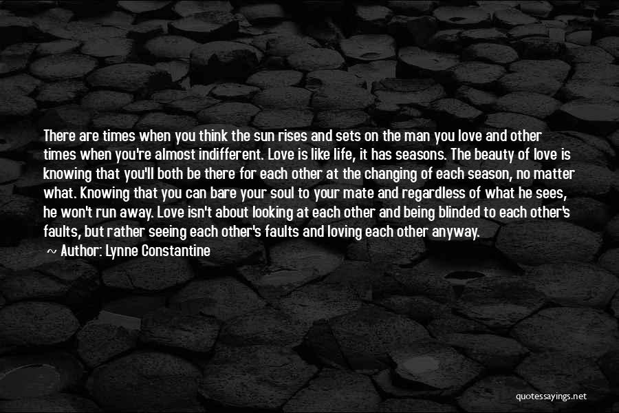 Your Man Loving You Quotes By Lynne Constantine
