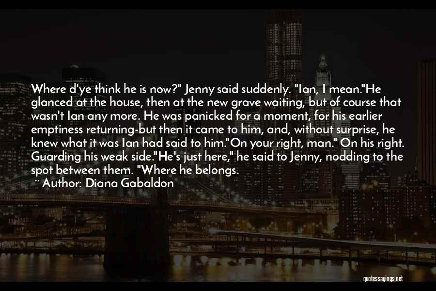 Your New Man Quotes By Diana Gabaldon