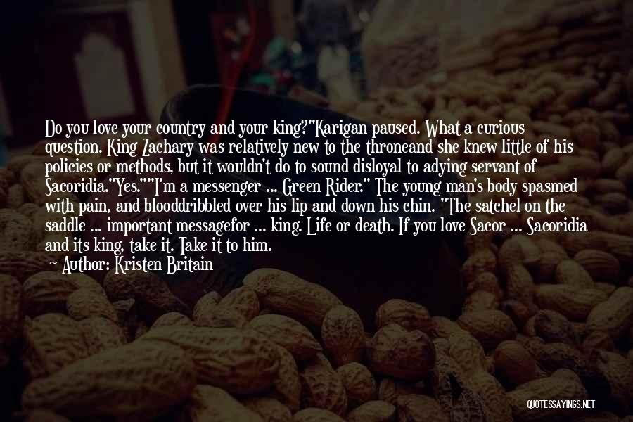 Your New Man Quotes By Kristen Britain