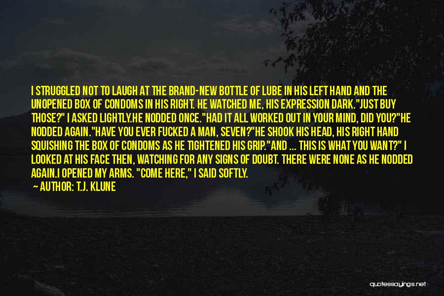 Your New Man Quotes By T.J. Klune