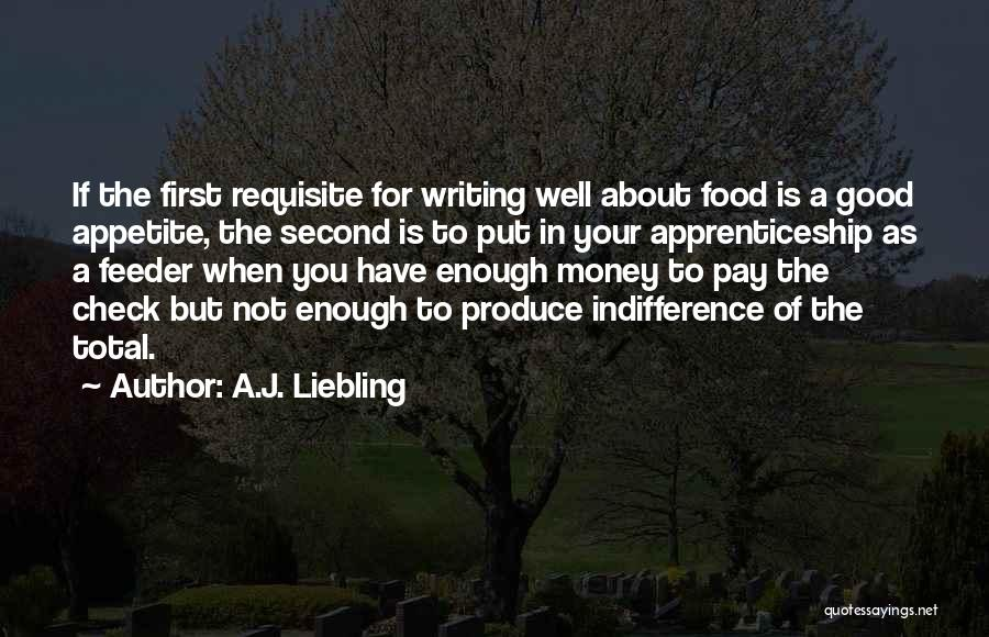 Your Not Good Enough Quotes By A.J. Liebling