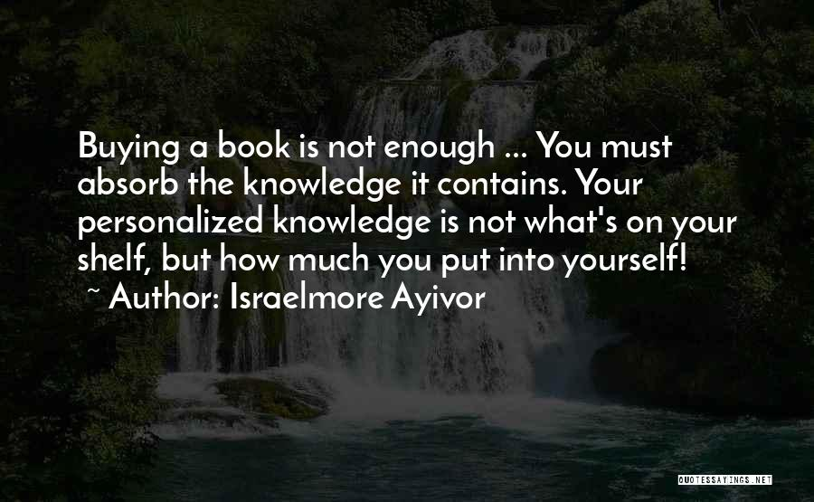Your Not Good Enough Quotes By Israelmore Ayivor