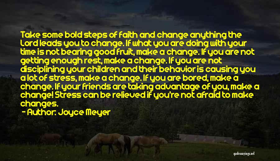 Your Not Good Enough Quotes By Joyce Meyer