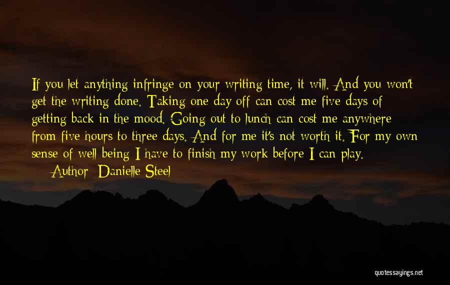 Your Not Worth Anything Quotes By Danielle Steel