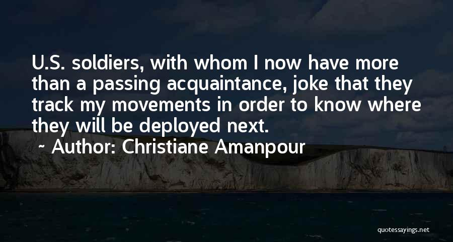 Your Nothing But A Joke Quotes By Christiane Amanpour