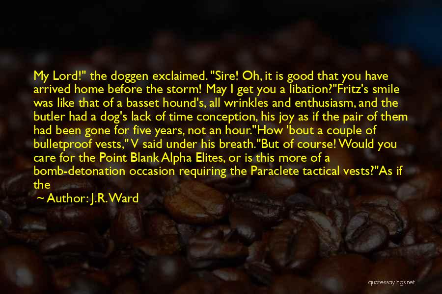 Your Nothing But A Joke Quotes By J.R. Ward