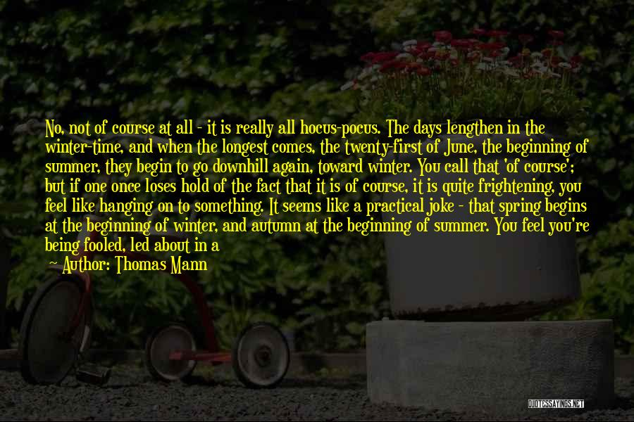 Your Nothing But A Joke Quotes By Thomas Mann