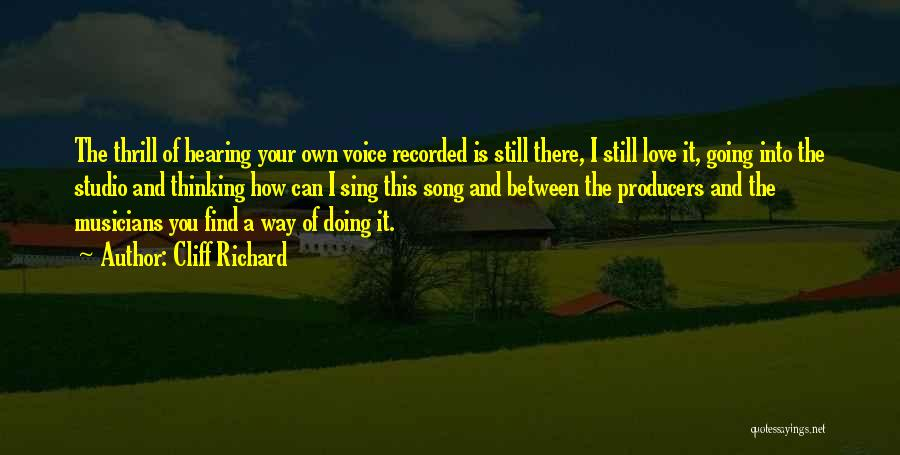 Your Own Way Quotes By Cliff Richard