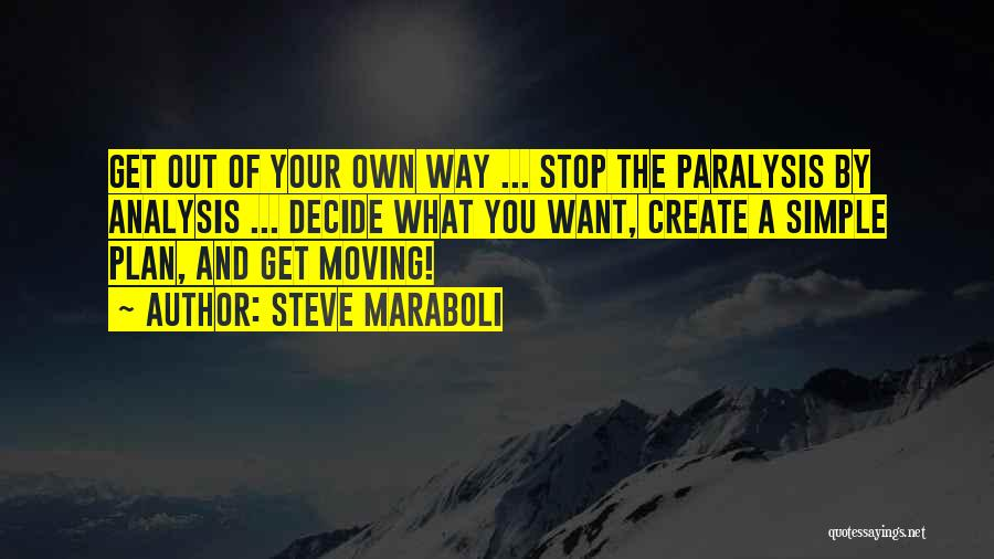 Your Own Way Quotes By Steve Maraboli