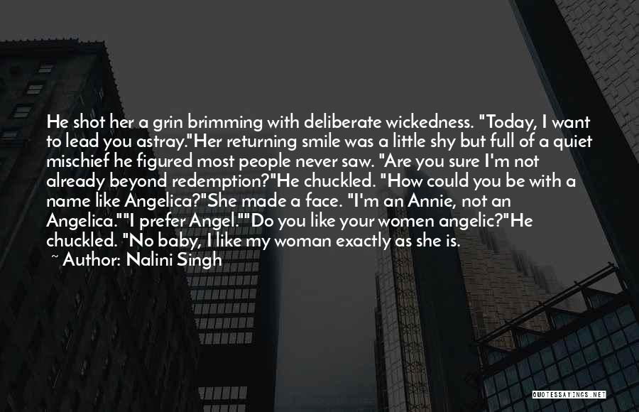 Your Smile Baby Quotes By Nalini Singh