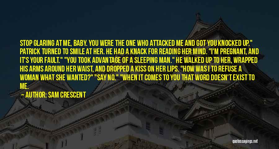 Your Smile Baby Quotes By Sam Crescent