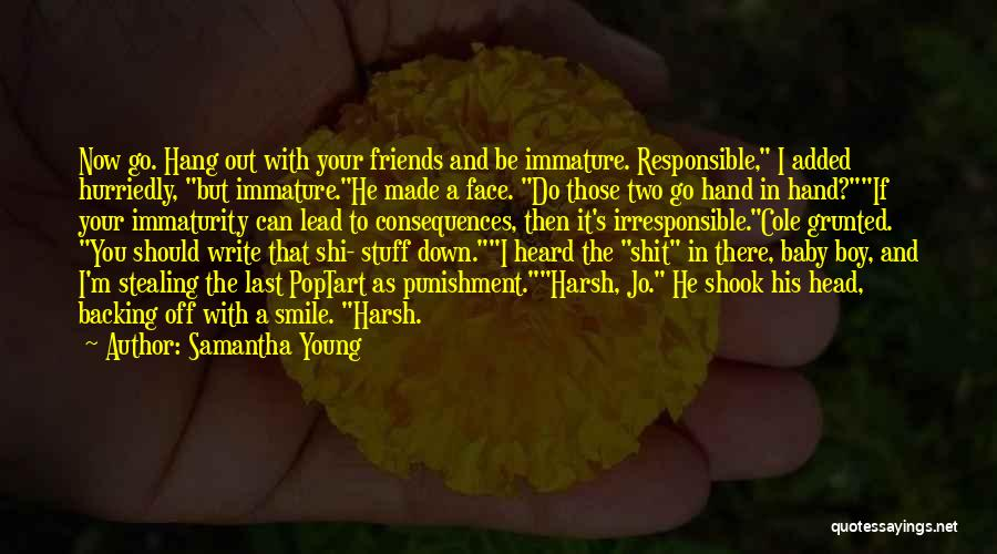 Your Smile Baby Quotes By Samantha Young