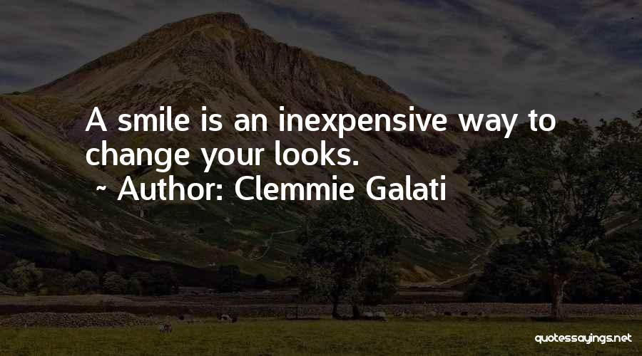 Your Smile Looks Quotes By Clemmie Galati