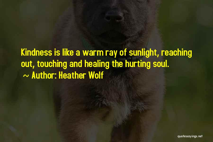 Your Soul Hurting Quotes By Heather Wolf