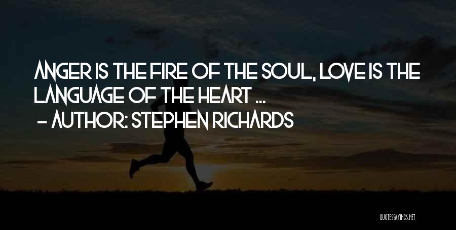 Your Soul Hurting Quotes By Stephen Richards
